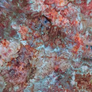 Coral Combo Cotten Hand Dyed Fabric