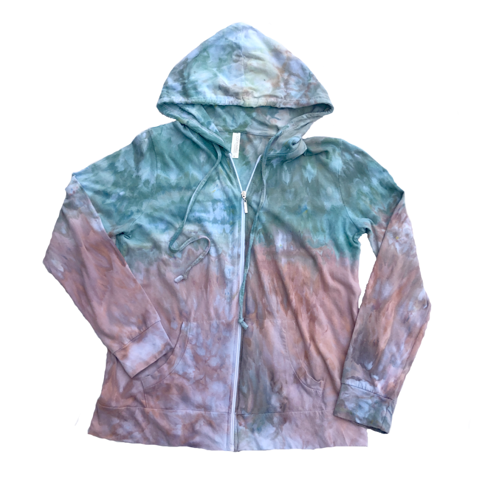 cotton hoodie, hoodie, cotton clothing, hand dyed clothing